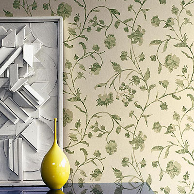 Wallpapers: Chantemerle Wallpaper, The Interior Library - Interior Designers, Dublin, Ireland.